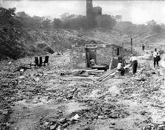 hooverville central park, the clutch plague,
