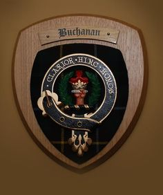 Buchanan - This room is furnished with antiques, hand made furniture and authentic Buchanan tartan.
