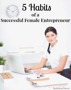 Learn how to become a successful business woman following these 5 habits. Start on the path to success maintaining a healthy balance between work and family. Be yourself and be memorable.