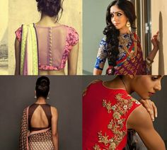 Among the varieties of sarees and blouse designs, we have made a list of 5 Trends to try out on blouses
