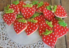 Strawberry Cookies  Create. Bake. Love.: Berry Sweet