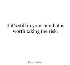 In my case, yes, yes it is worth the risk. ♥