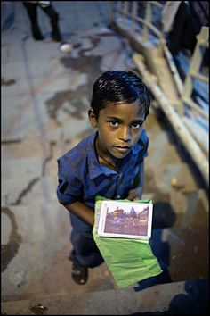 Want to buy a postcard - Varanasi