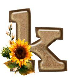 Free Letter Stencils, Alphabet Stencils, Monogram Alphabet, Alphabet And Numbers, Growing Sunflowers, Sunflower Png, Flower Alphabet, Disney Wallpaper, Cardmaking