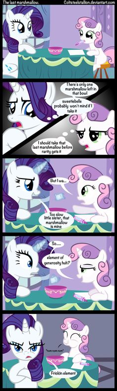 The last marshmallow by Coltsteelstallion.deviantart.com on @deviantART