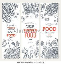 stock-vector-vietnamese-food-banner-collection-linear-graphic-vector-illustration-375582574.jpg (450×470)