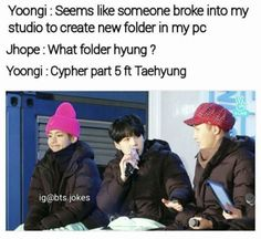 XD just him a part in cypher poor baby