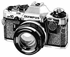 Beginners Guide To Photography Camera IllustrationCamera DrawingOld