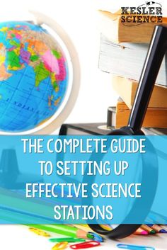 The Complete Guide to Setting Up Effective Science Stations Kesler Science Science Curriculum, Science Resources, Science Classroom, Science Lessons, Science Activities, Science Ideas, Life Science, Science Experiments, Middle School Science