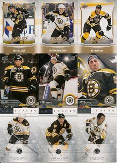 NEW! 2014-15 BOSTON BRUINS 3 DIFFERENT TEAM SETS +FREE Shipping!