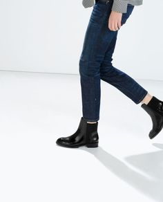PERFORATED BOOTIES-Ankle boots-Shoes-WOMAN | ZARA United States