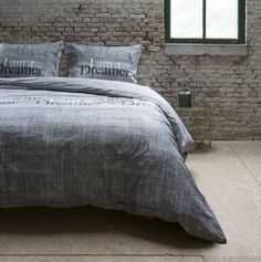 Francouzské povlečení šedé barvy DREAMER Comforters, Nova, Blanket, Furniture, Home Decor, Creature Comforts, Quilts, Decoration Home, Room Decor