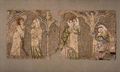 Opus Anglicanum, 1310-1340. British Museum