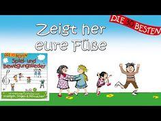 Zeigt her eure Füße - Die besten Spiel- und Bewegungslieder || Kinderlieder - YouTube
