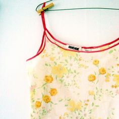 upcycled pjs made from vintage sheet. $40....Will someone take my grandma's old sheets and make me these jammies. ;)
