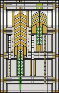 frank lloyd wright stained glass pattern - Google Search