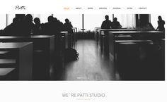 Patti - Best Premium WordPress One-Page Themes 2017
