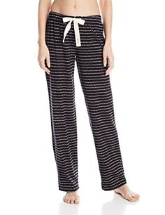 Calvin Klein Womens Collage Jersey Drawstring Pajama Pant Modern Signature LogoBlackIvory Small ** Details can be found by clicking on the image.(This is an Amazon affiliate link and I receive a commission for the sales)