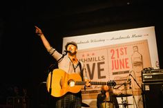 Foy Vance with his Bushmills Lowden guitar