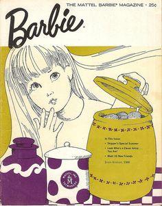 Vintage Barbie Magazine July-Aug 1966