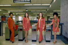 1970s BART employees