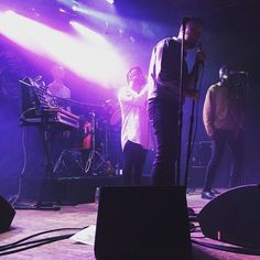 """""""We are all migrants."""" - Pure emotion emotion from @young_fathers on Friday night. by heycheeesy"""