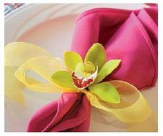 Napkin folding inspiration ideas
