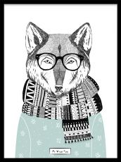 Mr Wise Fox, poster