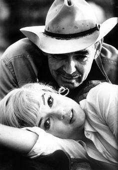 "Clark Gable and Marilyn Monroe, ""The Misfits"", 1961"