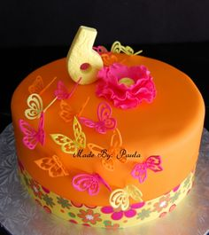 A butterfly birthday Cakes Cupcakes Sweets Pinterest