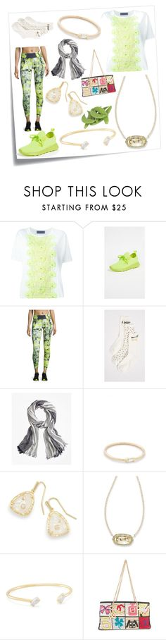 """Live a little"" by emmamegan-5678 ❤ liked on Polyvore featuring Post-It, Emanuel Ungaro, People Footwear, Charlie Jade, Kate Spade, Brooks Brothers, ZoÃ« Chicco, Kendra Scott, Chanel and modern"