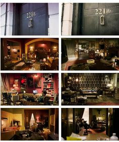 221B pilot and regular. Wow, such subtle differences can change the whole atmosphere of the show <3
