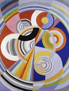 Robert Delaunay (French, 1885-1941), Rythme No.1, 1938. Oil on canvas, 160 x 128.3 cm.