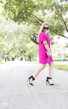 Fuchsia Dress | Living In Color Print5