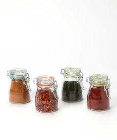Love this Global Amici 4-Oz. Rainbow Spice Jar - Set of Four by Global Amici on #zulily! #zulilyfinds