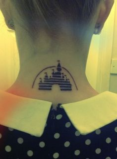 Cinderella's Castle | 35 Wonderful Tattoos For Disney Fan(atic)s
