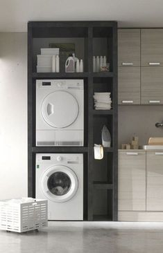 68 Stunning DIY Laundry Room Storage Shelves Ideas Essahouz Diy Home Decor dıy Essahouz Ideas Laundry Room Shelves Storage Stunning Laundry Room Remodel, Laundry Room Cabinets, Laundry Room Organization, Laundry Storage, Diy Cabinets, Laundry Shelves, Storage Organization, Storage Cabinets, Diy Storage Space