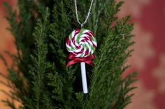 Polymer clay Christmas ornaments