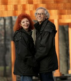 """Christo and Jeanne-Claude were born on the same date, Christo in Gabrovo, Bulgaria, and Jeanne-Claude in Morocco. They first met in Paris in October 1958. Their works were credited to just """"Christo"""" until 1994, when the outdoor works and large indoor installations were retroactively credited to """"Christo and Jeanne-Claude"""". They flew in separate planes: in case one crashed, the other could continue their work."""