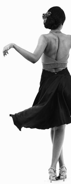 luxury handmade tango clothes www.poemaclothing.com    argentine tango clothing   black silk tango skirt