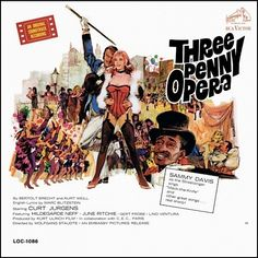 """Threepenny Opera"" (1964, RCA).  Music from the movie soundtrack.  Contains songs by Sammy Davis Jr."