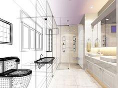 Bathroom design with software tool Bathroom Design Tool, Architect House, Home Design Plans, Exterior Colors, Tool Design, Interior Decorating, Layout, House Design, Tools