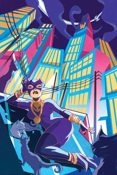 Catwoman Official print : One year Batman project. by ElsaCharretier