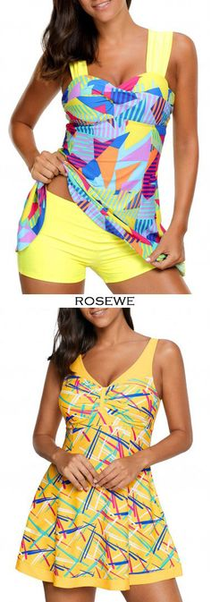 Cute swimdress and panty for women at Rosewe.com, free shipping worldwide, check them out.