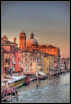 ✯ Evening on the Grand Canal - Venice, Italy