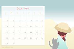 Imprimible: Calendario Junio 2015