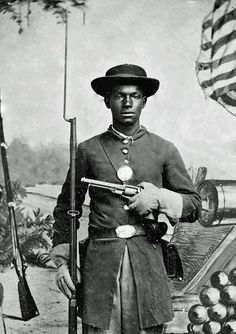 Freedom Fighter | 1865 (Close Up) | by Black History Album