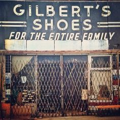 Gilbert's shoes