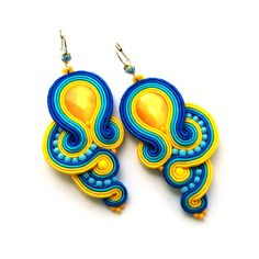 soutache-earrings-wholesale-earrings-handmade-earrings-turquoise-yellow-earrings-02