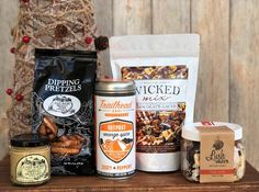 Our holiday items are decadent treats sure to be a much-appreciated gift! Holiday Snacks, Holiday Gifts, Yummy Snacks, Spices, Artisan, Tasty, Stuffed Peppers, Treats, Seasons